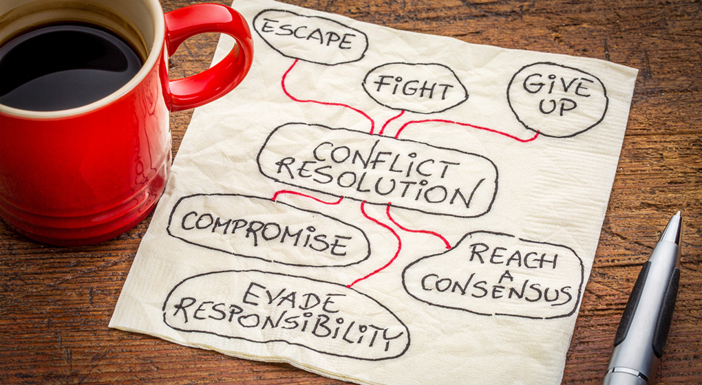 Conflict Resolution Note Image