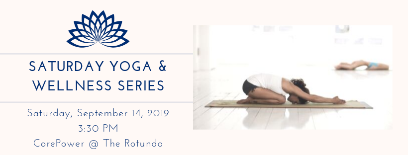 Yoga and Wellness Series