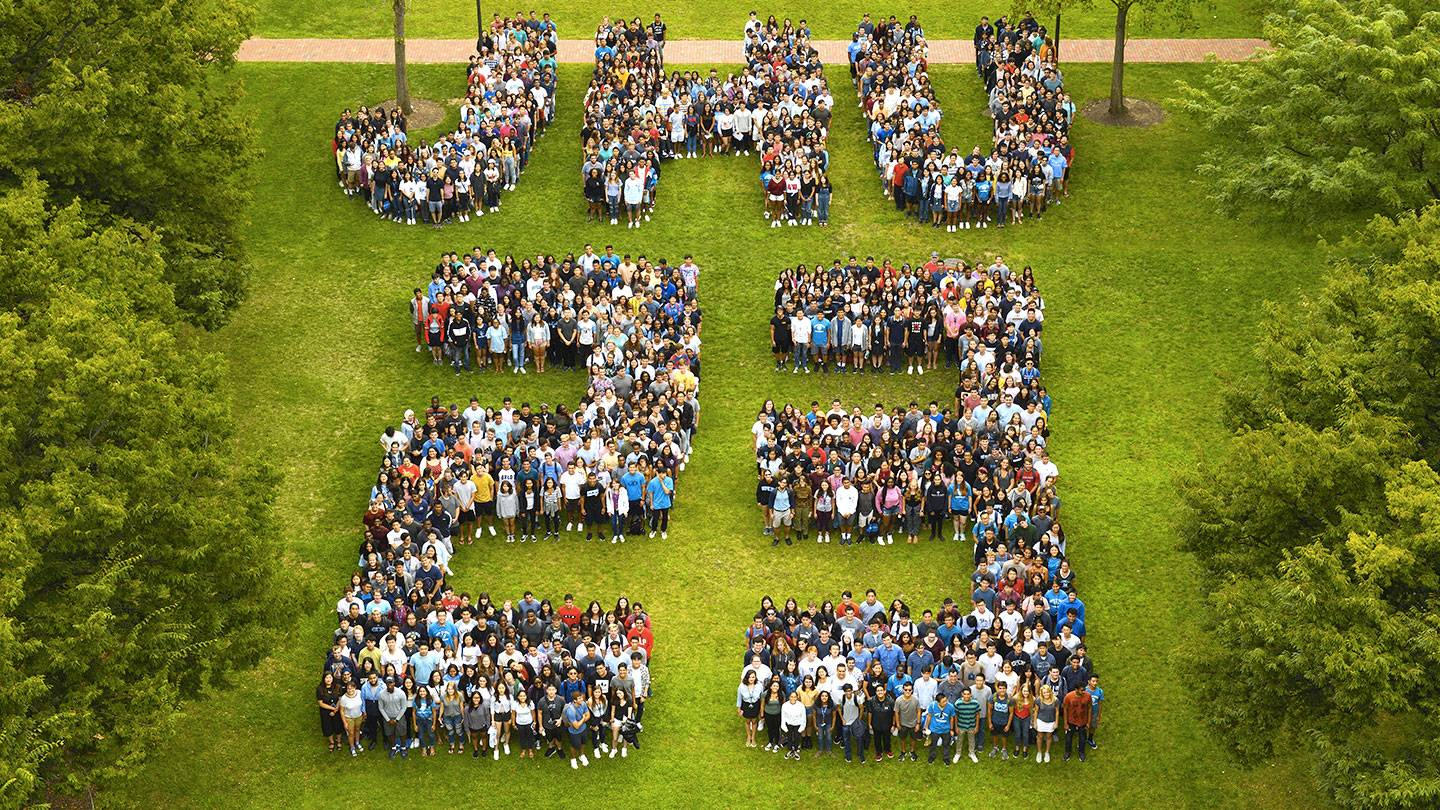 #JHU2023 class photo, sponsored by the Alumni Association