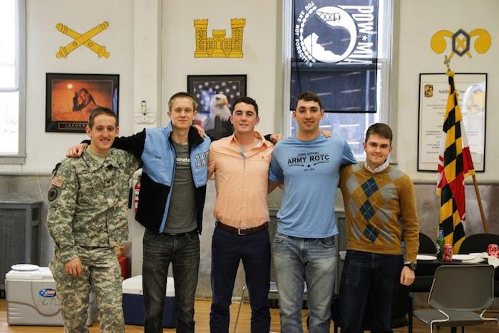 Johns Hopkins ROTC Alumni Event