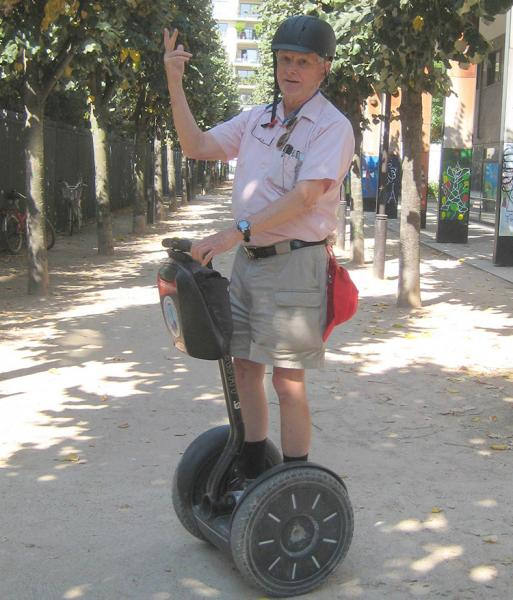 Touring Paris by Segway