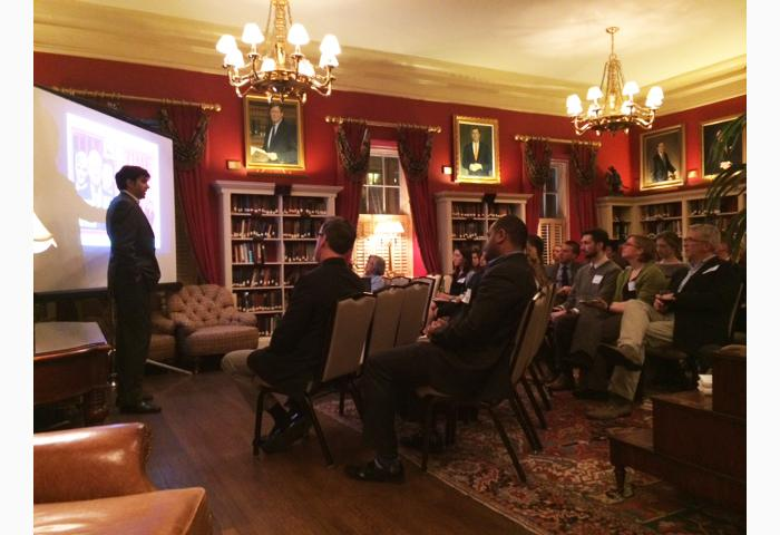 Aneesh Chopra Speaks to DC Alumni