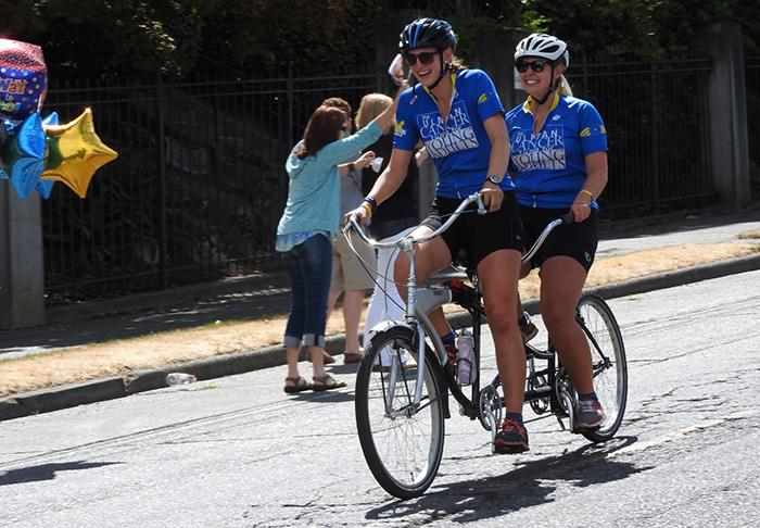 Megan Morrow and Jackie Starrett Bike Across the Country