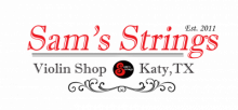 Sam's Strings Violin Shop logo